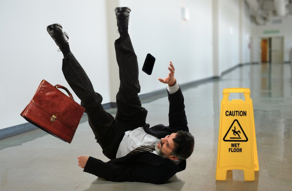 slip and fall accidents are one of the common types of personal injuries